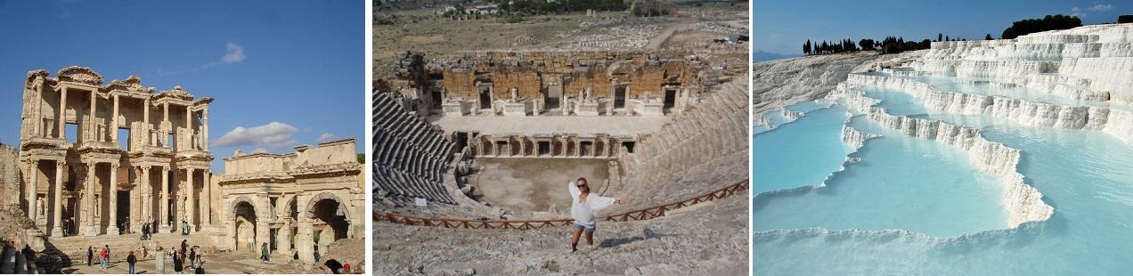 экскурсии в памуккале и эфес